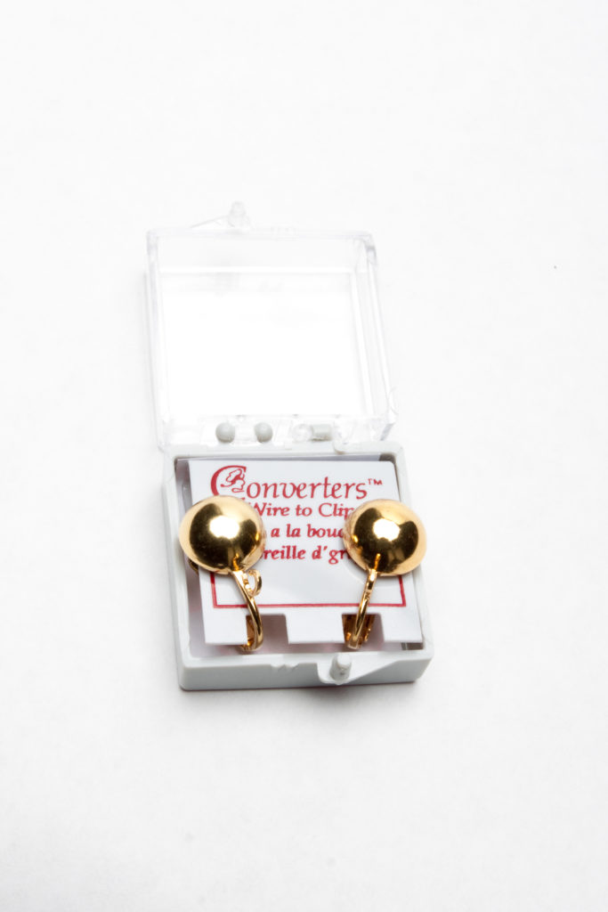 FCNG1052- Med. Fish Hook Earring Converter Gold